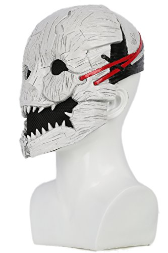 xcoser Dead Daylight Mask Deluxe Half Head Helmet Trapper Adult Cosplay Props by xcoser (Image #1)