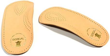 Ortho Plus Orthopädische Fußstütze mit echtem Leder (Gr. 36-48) + Rema Einlagenbeutel