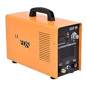 Goplus CUT-50 Electric Digital Plasma Cutter Inverter 50AMP Welder Cutting Dual Voltage (Yellow) by Superbuy
