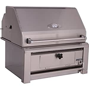 Luxor Charcoal Grills 30 Inch Built-in Charcoal Grill Aht-30-char-bi