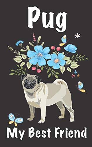 Pug My Best Friend: Internet Password logbook To organize or keep your Usernames and Passwords For Girl, Men, Senior, Co-worker