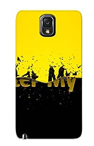 Crazinesswith Protection Case For Galaxy Note 3 / Case Cover For Christmas Day Gift(be Water My Friend)