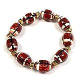 Football Bracelet | Beaded Bracelet for Women Gift | Football Fan Bracelet | Gift for Mom Girlfriend Wife