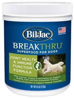 Bil & Jac Breakthru SuperFood for Dogs Joint Health and Immune Function Formula