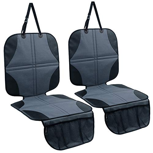 Ohuhu Car Seat Protector 2 Pack, Carseat Seat Protectors for Child Car Seat Cover for Baby Infant Carseats