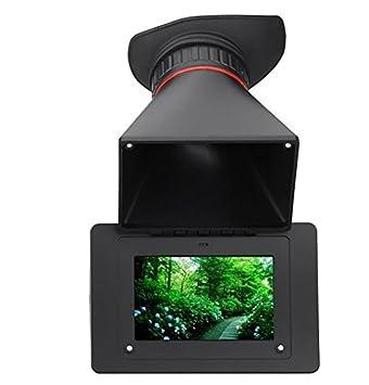 GOWE visor electrónico 2,5 x ampliación SDI pantalla LCD de 3,5 ...