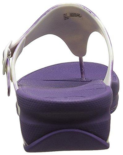 Fitflop Super Jelly - Chanclas al dedo Mujer Morado