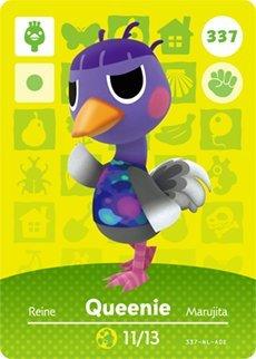 Queenie 337 - Tarjeta Amiibo Serie 4 de Nintendo Animal ...