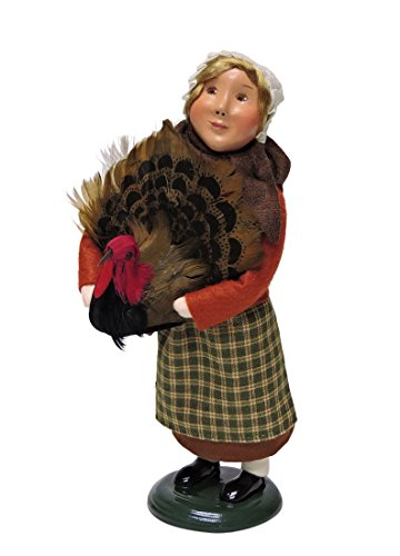 Byers' Choice Pilgrim Girl Caroler Figurine #5013B from