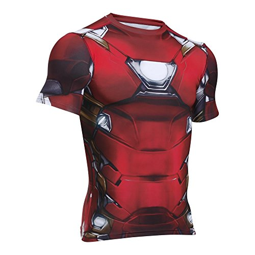 Under Armour Alter Ego Iron Man Compression Shirt XL Cardinal