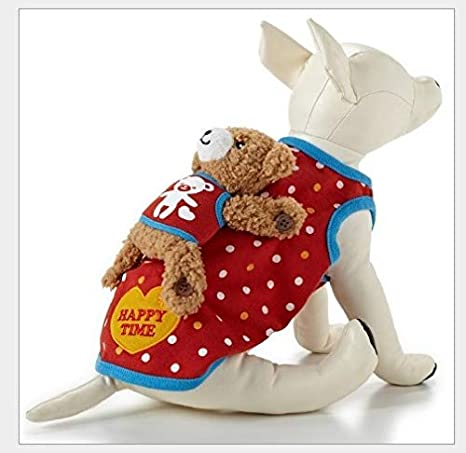 The RED vest CatDog Clothes