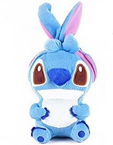 blue Cute Stitch 3D Stitch Cartoon Doll Toy Plush Case Cover For Motorola DROID Fighter/DROID RAZR HD/XT926