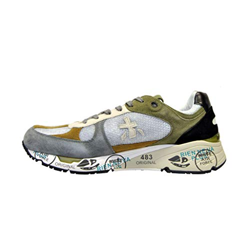 Verde Uomo Sneakers Pelle Mase3887 Premiata wq0CIS