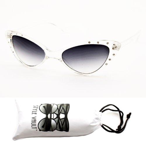 Wm527-vp Cateye Sunglasses Eyeglasses (wisd clear, - Glasses Gaga