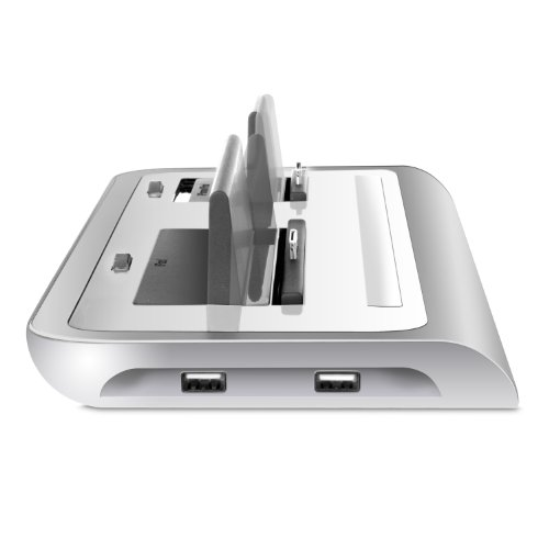 iSound Power View Pro S Charge and View Dock with 2 Apple 30 Pin Charge for iPad 1 2 & 3, all iPhones (except for iPhone 5 and above) , all iPod touches and more (white) by iSound (Image #4)