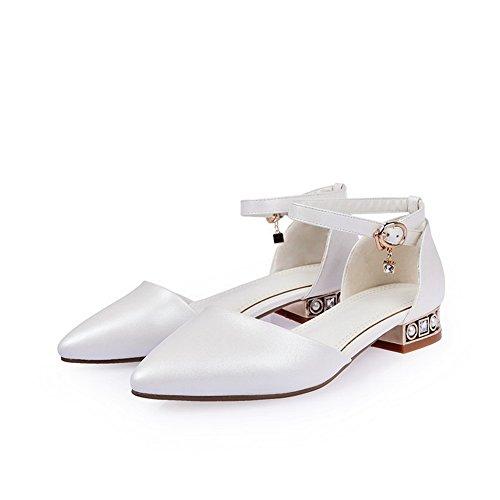 1TO9 - Sandalias de vestir para mujer blanco