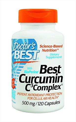 Cheap Doctor's Best Curcumin C3 Complex with BioPerine (500 Mg) (240 Capsules)