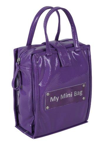 Bebé a bordo Gloss Mini cambiar pañales Bolsa (verde lima) violeta