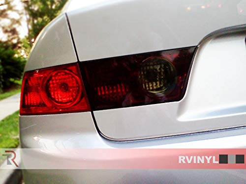 Rtint Tail Light Tint Covers for Hyundai Genesis 2013-2016 (Coupe) - Smoke
