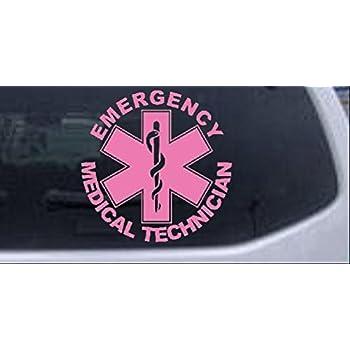 SUPER EMT EMERGENCY MEDICAL TECH VINYL CAR TRUCK WINDOW DECAL STICKER