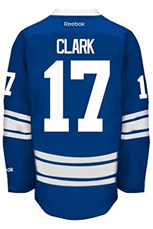 Wendel Clark Toronto Maple Leafs Reebok Premier Third Jersey NHL Replica 42efb2964