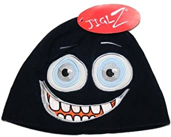 899622a457c Jiglz Childs Character Soft Fleece Ski Hat C67  Amazon.co.uk  Clothing
