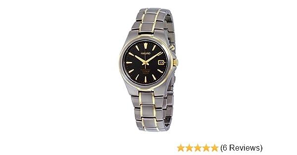 Amazon.com: Seiko SKA214P1 Men Kinetic Titanium,100m Water Resistant,Brand New,SKA214: Watches