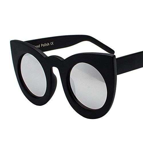 Aoligei L'Europe et l'États-Unis fashion réflectorisé personnalité de lunettes de soleil cool Big Box conduit Chao lunettes de soleil jCSHljVI0