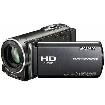 amazon com sony hdr cx150 16gb high definition handycam camcorder rh amazon com Sony Handycam HDR CX sony handycam hdr-cx150 manual pdf