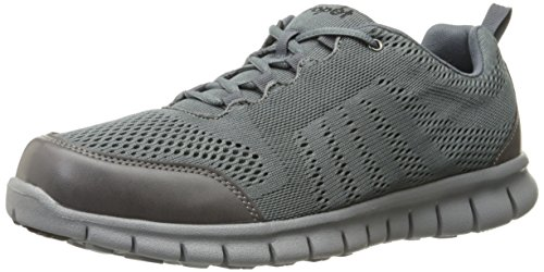 Propét Mens McLean Mesh Walking Shoe Slate LLgYhNZ7P