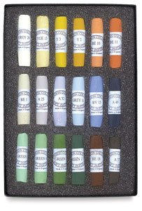 Jack Richeson Unison Pastel Landscape Colors, Set of 18 by Jack Richeson