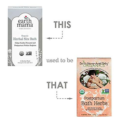 12ba05ff7458c Amazon.com : Earth Mama Angel Baby Postpartum Recovery Essentials Bundle :  Baby
