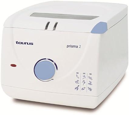 Taurus Prisma 2, Blanco, 235 x 290 x 207 mm, 230 V, 50 Hz - Freidora: Amazon.es: Hogar