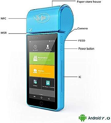 TQ Tarjeta Magnética Pantalla táctil de Pantalla 4G WiFi Lector de ...