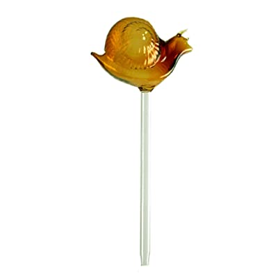 Yarnow Plant Waterer Self Watering Globes Irrigation Spike Snail Shape Clear Glass Bulbs Small Plant Flower Automatic Self Watering Bulbs Random Color: Garden & Outdoor