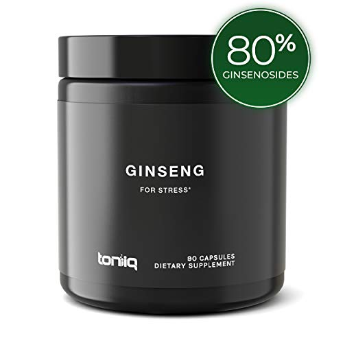 - Ultra High Strength Panax Ginseng Capsules - 80% Ginsenosides - The Strongest Red Korean Ginseng Pills Available - 750 mg - Optimal Support for Enhanced Energy and Performance - 90 Veggie Caps