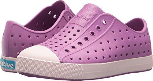 native Kids Jefferson Water Proof Shoes, Peace Purple/Milk Pink, 2 Medium US Little Kid (Kids Purple Shoes)