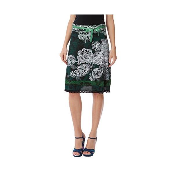 Desigual Skirt Kape Gonna Donna