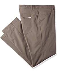 Men's Cotton Stretch Pants, India Ink, 38Wx32L