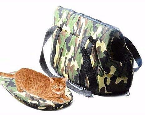 NiDea Bolsa Transporte Blanda para Perro Cachorro Gato - Bolso Bandolera para Animales pequeños: Amazon.es: Productos para mascotas