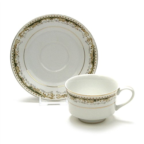 Queen Anne Cup Saucer - Queen Anne by Signature, China Cup & Saucer