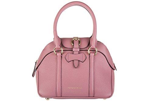 9e8b1fa65cd Burberry women s leather handbag shopping bag purse milverton derby mauve  pink - Buy Online in KSA. Shoes products in Saudi Arabia.