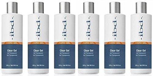 (6 Pack) ibd Clear Gel Refill 8 oz - Clear Gel Refill