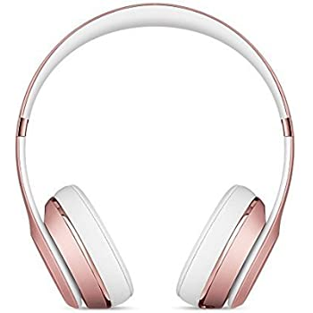 Beats Solo3 Wireless On-Ear Headphones - Rose Gold (Certified Refurbished)
