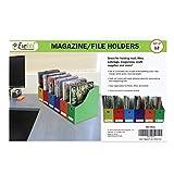 Evelots Magazine File Holder-Organizer-4 Inch