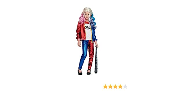 Disfraz de Joker Baby largo infantil - Niña, de 7 a 9 años: Amazon ...