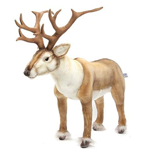 HANSA Nordic Deer Realistic Plush Toy, Stuffed Animal Doll, Gift for Kids Baby, Extra Large, 21 inch