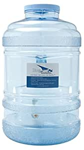 Bluewave Lifestyle BPA Free Water Bottle with Big-Mouth & Dispensing Valve, 5 gallon