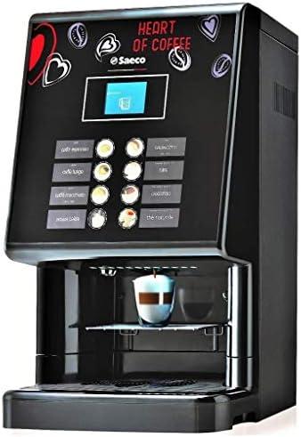 Saeco Phedra Cappuccino Independiente Totalmente automática Máquina espresso Negro - Cafetera (Independiente, Máquina espresso, Granos de café, Molinillo integrado, 1250 W, Negro): Amazon.es: Hogar