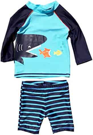 f8da634d3d Baby Boys Baby Toddler Swimsuits Baby Boy Swimsuit One-Piece Rash Guard Infant  Sun Protection Swimwear Storeholic
